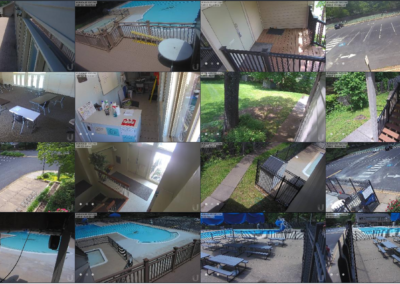 Herdon VA Community Pool Cameras